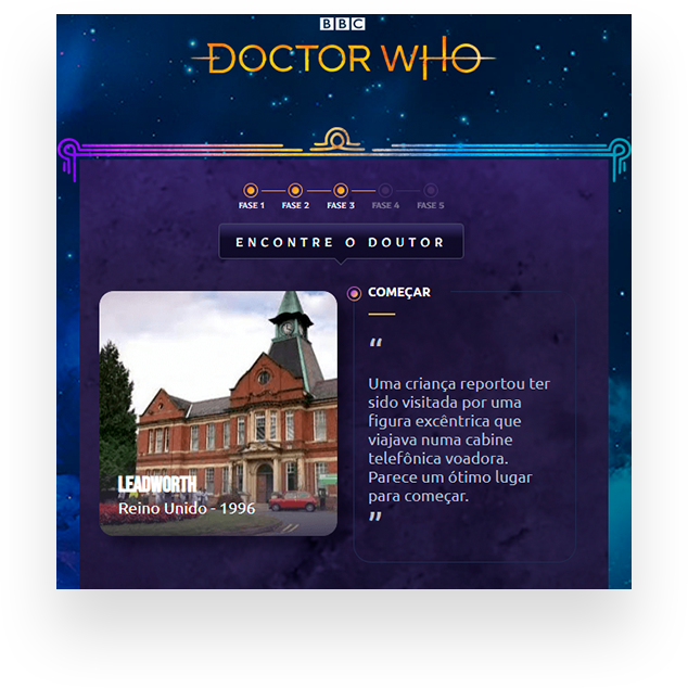 landing page doctor who