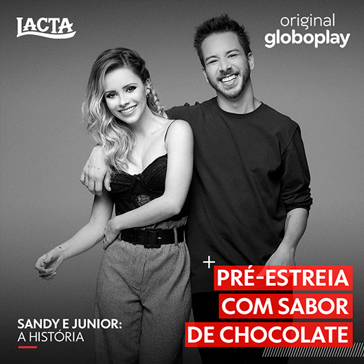 Sandy e Junior no Globoplay